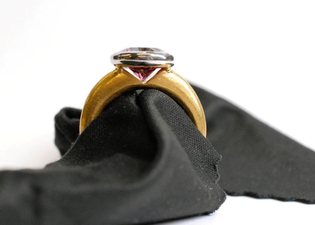 Feingold Ring aus 24 Karat